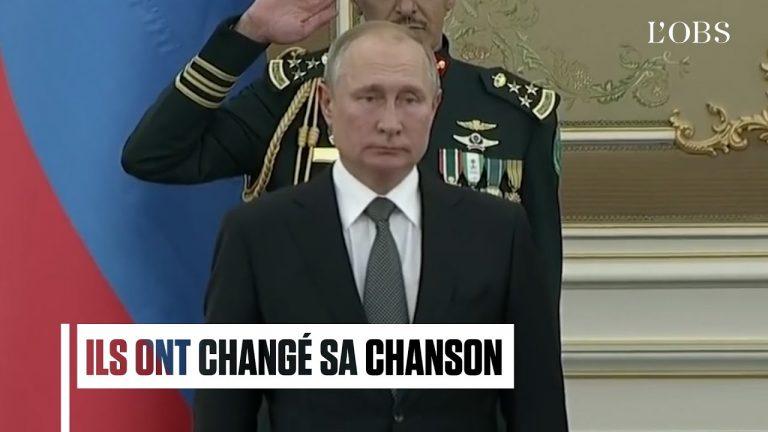 POLITIQUE : L'orchestre militaire saoudien massacre l'hymne russe