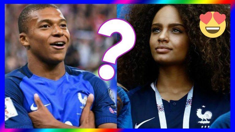 Les plus belles femmes des joueurs de l'équipe de France