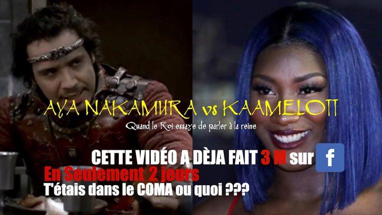 HUMOUR : Aya Nakamura vs KAAMELOTT – Le mashup !