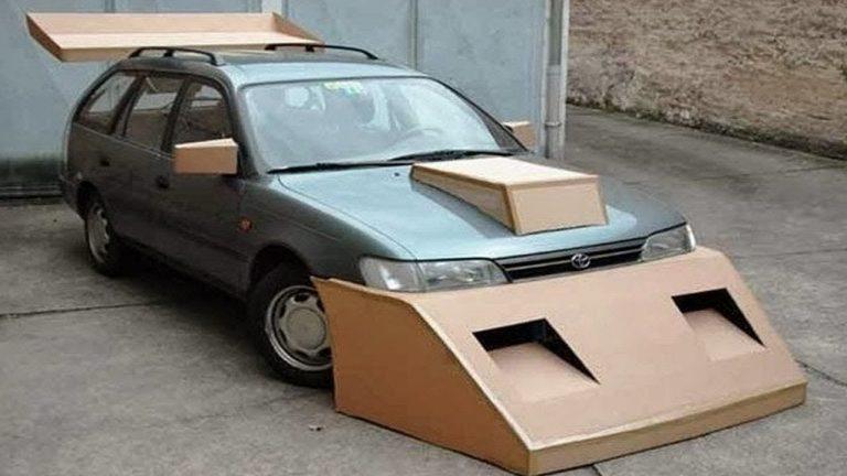 Les pires customisations de voitures de tous les temps !