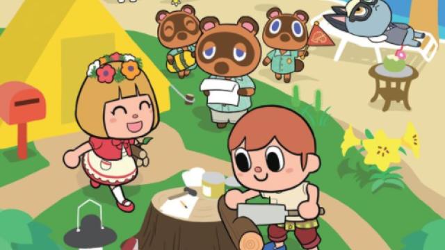 Animal Crossing: le manga New Horizons sortira le mois prochain