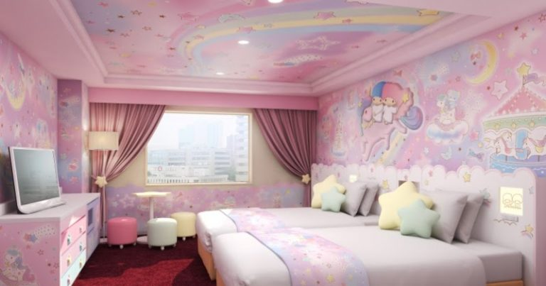 Le Keio Plaza Hotel Tama ouvre les chambres My Melody, Little Twin Stars !