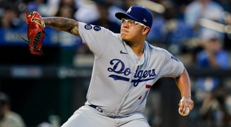 Les Dodgers placent Julio Urias en IL de 10 jours avec une contusion au mollet gauche