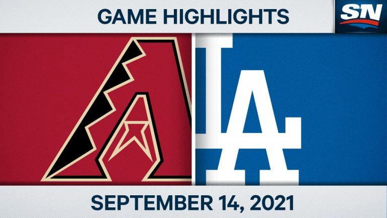 MLB : Dodgers 8, Diamondbacks 4