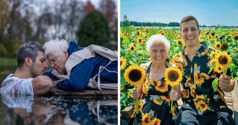 Une grand-mère de 95 ans et son petit-fils prouvent que le plaisir n'a pas de limite d'âge avec des costumes hilarants (22 nouvelles photos)