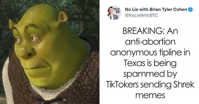Les gens combattent les lois sur l'avortement au Texas en spammant le site Web de la ligne anti-avortement de manière magistrale