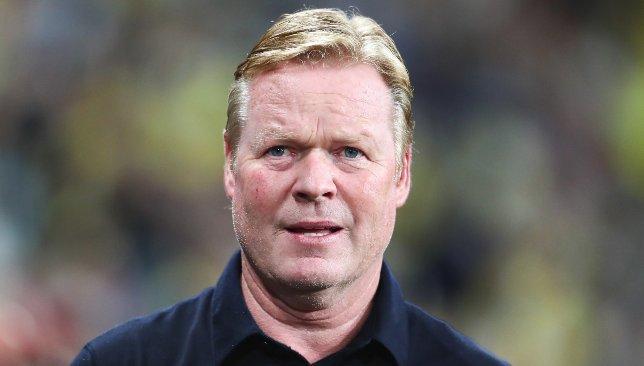 Ronald Koeman restera le patron de Barcelone au moins jusqu'à la pause internationale