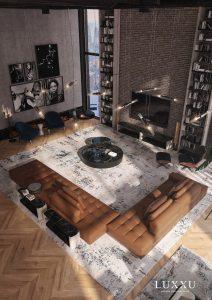 Familiarisez-vous avec ce passionnant loft new-yorkais de Luxxu