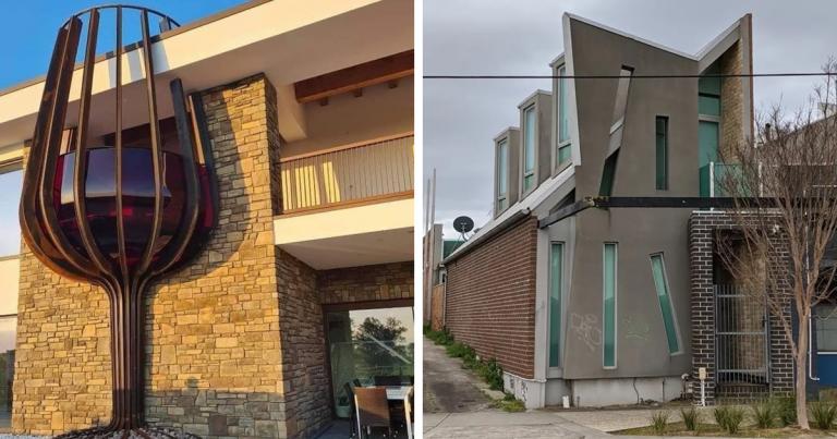 Ce compte IG australien documente des maisons laides à Melbourne, et elles sont si mauvaises que c'est hilarant (89 photos)