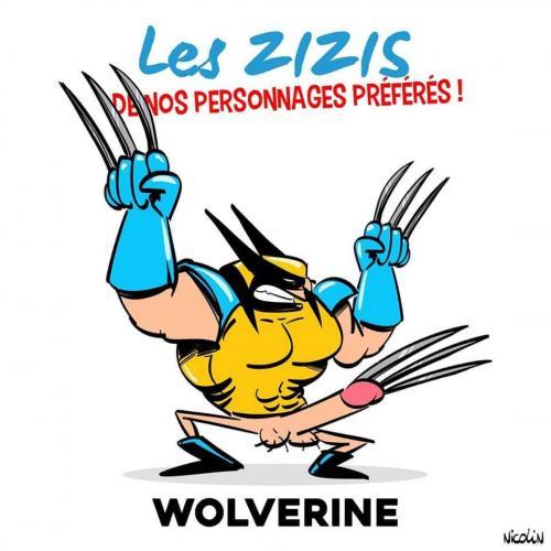 Le zizi de Wolverine