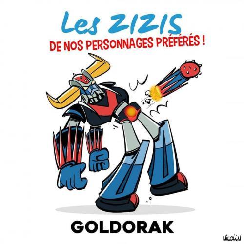 Le zizi de Goldorak