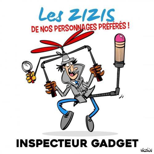 Le zizi de l'Inspecteur Gadget