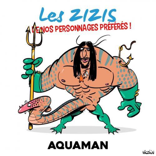 Le zizi de Aquaman